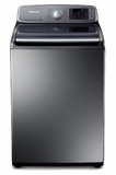 WA50F9A8DSP Samsung 5.0 cu. ft. Capacity Top Load Washer - Stainless Platinum