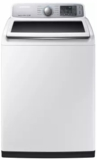 "WA50M7450AW Samsung 27"" 5.0 cu. ft. High-Efficiency Top Load Washer with Self Clean and VRT Plus Technology - White"
