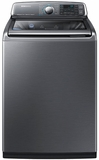 WA52J8700AP Samsung 5.2 Cu. Ft. Front Load Washer with Activewash - Stainless Platinum