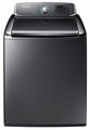 WA56H9000AP Samsung 5.6 cu. ft. Capacity Top Load Washer with EZ Reach Design - Platinum