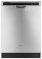 WDF540PADM Whirlpool Dishwasher with Sensor Cycle - Monochromatic Stainless Steel