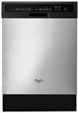 WDF550SAFS Whirpool Dishwasher with Stainless Steel Tall Tub & Energy Star - Stainless Steel