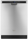 "WDF560SAFM Whirlpool 24"" Dishwasher with Adaptive Wash Technology - Stainless Steel"