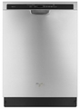 WDF760SADM Whirlpool Dishwasher with TargetClean Option - Monochromatic Stainless Steel