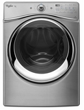WED94HEAC Whirlpool 7.4 cu. ft. Duet� Electric Dryer with Advanced Moisture Sensing - Chrome Shadow