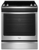 WEE730H0DS Whirlpool 6.2 cu. ft. Slide-In Electric Stove with TimeSavor Convection - Stainless Steel