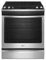 WEG730H0DS Whirlpool 5.8 cu. ft. Slide-In Gas Range with TimeSavor Convection - Stainless Steel