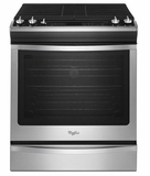 WEG760H0DS Whirlpool 5.8 cu. ft. Slide-In Gas Range with TimeSavor Plus True Convection - Stainless Steel