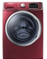 WF42H5400AF Samsung 4.2 cu. ft. Capacity Front Load Washer with SuperSpeed  - Merlot