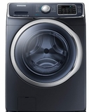 WF45H6300AG Samsung 4.5 cu. ft. Capacity Front Load Washer with SuperSpeed - Onyx