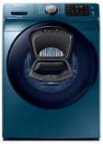 "WF45K6200AZ Samsung 27"" 4.5 cu. ft. Front Load Washer with AddWash 12 Preset Wash Cycles and 10 Wash Options - Blue"