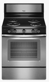 WFC340S0ES Whirlpool 4.8 Cu. Ft. Freestanding Electric Range with High-Heat Self-Cleaning System - Stainless Steel