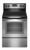 WFE320M0ES Whirlpool 4.8 Cu. Ft. Freestanding Electric Range with FlexHeat Dual Radiant Element - Stainless Steel