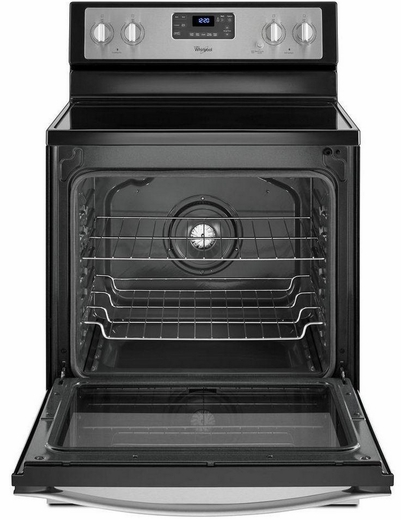 Wfe540h0es Whirlpool 6 4 Cu Ft Freestanding Electric