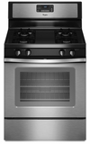 WFG510S0AS Whirlpool 5.0 cu. ft. Capacity Gas Range with AccuBake Temperature Management System - Stainless Steel