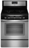WFG530S0ES Whirlpool 5.0 Cu. Ft. Freestanding Gas Range with Fan Convection Cooking - Stainless Steel