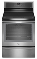 WFI910H0AS Whirlpool Gold� 6.2 cu. ft. Capacity Induction Range with TimeSavor Plus True Convection Cooking System - Stainless Steel