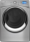 WFL98HEBU Whirlpool Smart Front Load Washer with 6th Sense Live Technology - Diamond Steel