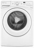 WFW81HEDW Whirlpool 4.2 Cu. Ft. Duet High Efficiency Washer with Tumblefresh - White