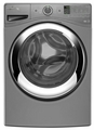 WFW87HEDC Whirlpool 4.3 cu. ft. Duet Steam Front Load Washing Machine with Steam Clean Option - Chrome Shadow