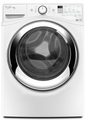 WFW87HEDW Whirlpool 4.3 cu. ft. Duet Steam Front Load Washing Machine with Steam Clean Option - White