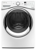 WFW95HEDW Whirlpool 4.5 cu. ft. Duet� Steam Front Load Washer with FanFresh Option with Dynamic Venting Technology - White