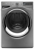 WFW97HEDC Whirlpool 4.5 cu. ft. Duet Steam Front Load Washer with Load & Go System - Chrome Shadow