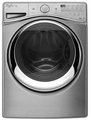 WFW97HEDU Whirlpool 4.5 cu. ft. Duet Steam Front Load Washer with Load & Go System - Diamond Steel