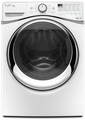 WFW97HEDW Whirlpool 4.5 cu. ft. Duet Steam Front Load Electric Washer with Load & Go System - White