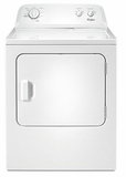 WGD4616FW Whirlpool 7.0 cu. ft. Front Load Gas Dryer with Wrinkle Shield Option - White