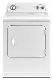 WGD4800XQ Whirlpool Traditional Gas Dryer with AutoDry System - White