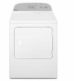 "WGD4810EW 29"" Whirlpool 7.0 cu. ft. Front Load Gas Dryer with Wrinkle Shield Option - White"