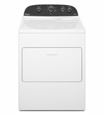 WGD4850BW Whirlpool 7.0 cu. ft. HE Gas Dryer with AccuDry Sensor Drying System - White