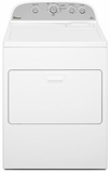 WGD4915EW Whirlpool 7.0 cu. ft.  Gas Dryer with Cool Down Cycle - White