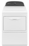 WGD5500BW Whirlpool Cabrio 7.4 Cu Ft Gas Dryer - White