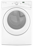 WGD71HEDW Whirlpool 7.4 cu. ft. Duet Long Vent  Gas Dryer with Wrinkle Shield Plus Option - White