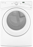 WGD72HEDW Whirlpool 7.4 cu. ft. Duet High Efficiency  Gas Dryer with Quad Baffles - White