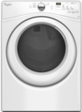 "WGD7590FW Whirlpool 27"" 7.4 cu. ft. Gas Dryer with 6 Dry Cycles Advanced Moisture Sensing System - White"