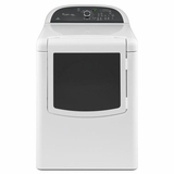 WGD8100BW Whirlpool 7.6 cu. ft. Cabrio Platinum HE Gas Dryer with Advanced Moisture Sensing - White