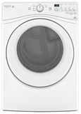 WGD81HEDW Whirlpool 7.4 cu. ft. Duet High Efficiency  Gas Dryer with EcoBoost Option - White