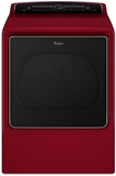 WGD8500DR Whirlpool 8.8 cu. ft. Cabrio High-Efficiency Gas Steam Dryer - Cranberry Red