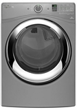 WGD87HEDC Whirlpool 7.4 cu. ft. Duet  Gas Steam Dryer with Wrinkle Shield Plus Option with Steam - Chrome Shadow