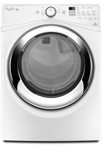 WGD87HEDW Whirlpool 7.4 cu. ft. Duet  Gas Steam Dryer with Wrinkle Shield Plus Option with Steam - White