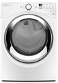 WGD87HEDW Whirlpool 7.4 cu. ft. Duet Front Load Electric Steam Dryer with Wrinkle Shield Plus Option with Steam - White