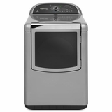 WGD8900BC Whirlpool 7.6 cu. ft. Cabrio Platinum HE Gas Dryer with Steam-Enhanced Cycles - Chrome Shadow