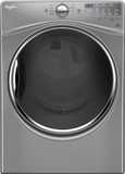 "WGD90HEFC Whirlpool 27"" 7.4 cu. ft. Gas Dryer with 9 Dry Cycles Advanced Moisture Sensing System - Chrome Shadow"