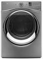 WGD95HEDC Whirlpool 7.4 cu. ft. Duet Gas Steam Dryer with Steam - Chrome Shadow