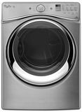 WGD95HEDU Whirlpool 7.4 cu. ft. Duet Gas Steam Dryer with Steam - Diamond Steel
