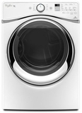 WGD95HEDW Whirlpool 7.4 cu. ft. Duet Gas Steam Dryer with Steam - White