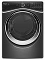 WGD97HEDBD Whirlpool 7.4 cu. ft. Duet Steam Gas Dryer with SilentSteel Dryer Drum - Black Diamond